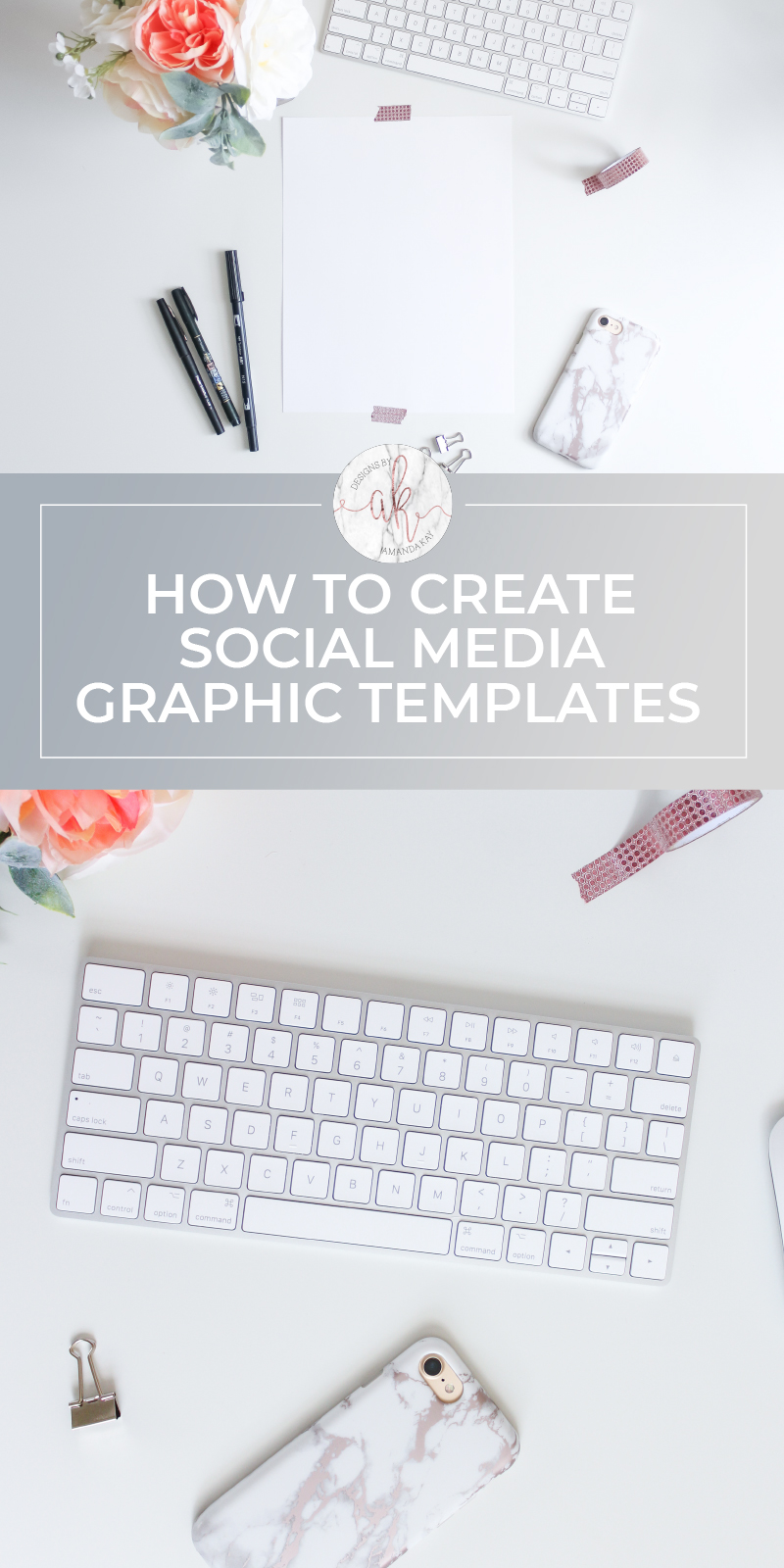 Save your time and sanity by learning how to create social media graphic templates using Adobe Illustrator.