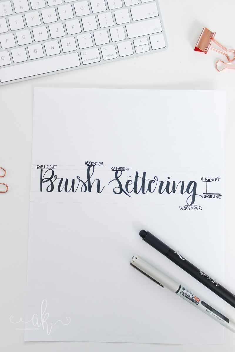 Simple Guide to Lettering Terminology
