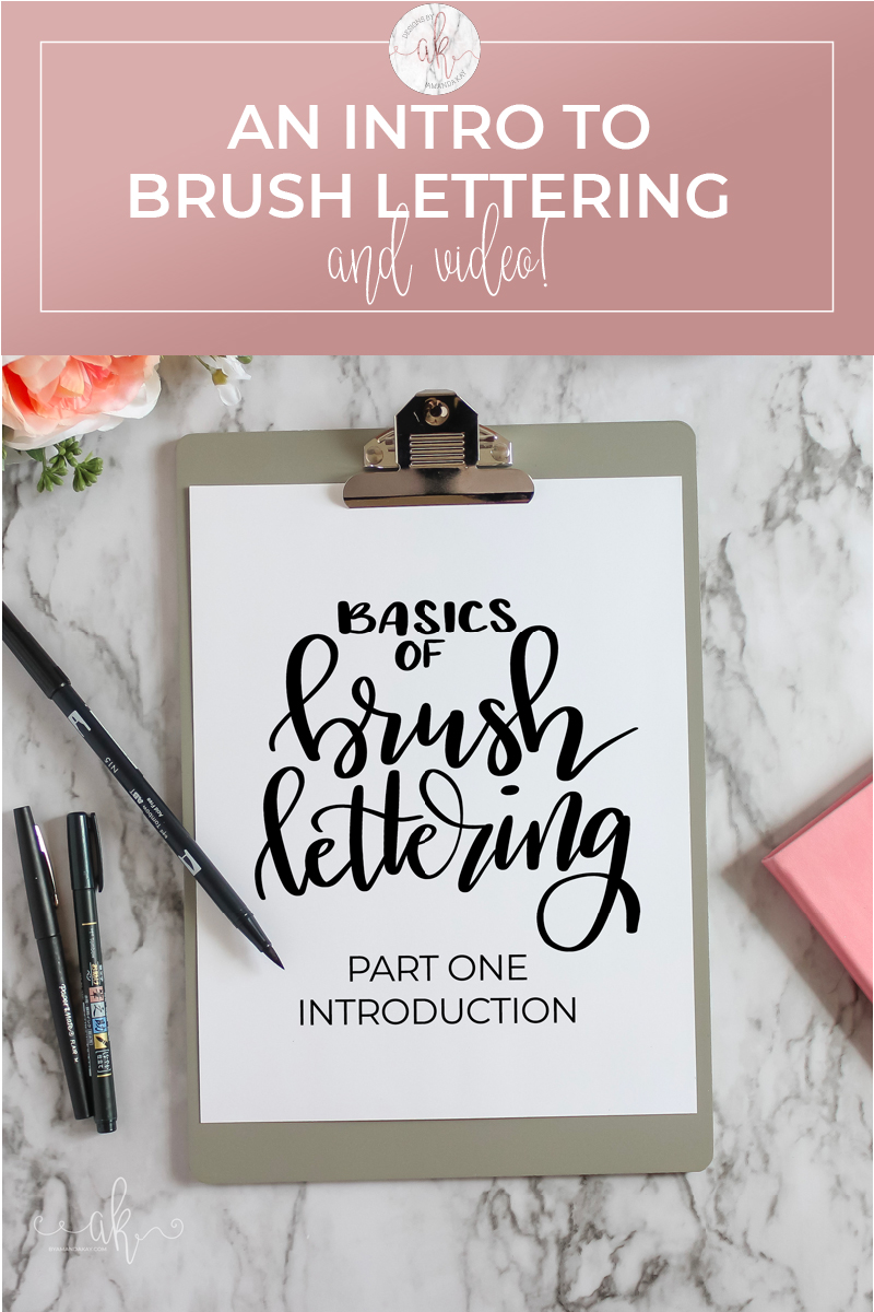 Brush Lettering Introduction