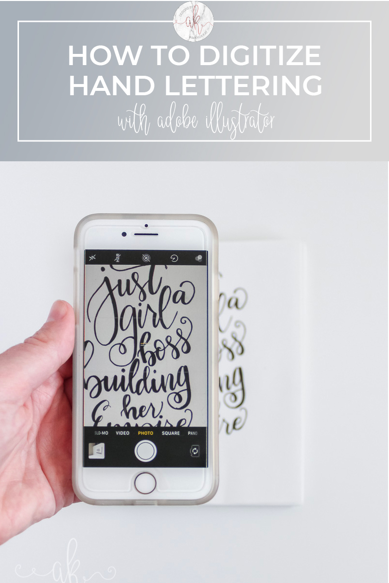 How to Digitize Hand Lettering