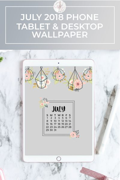 Free July 2018 Wallpaper