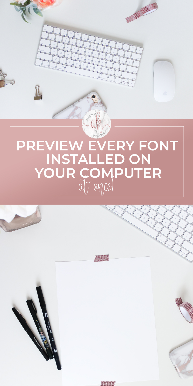 How to Preview Installed Fonts all at once!