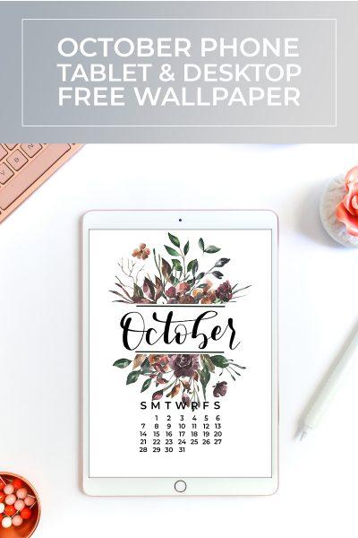 Free October 2018 Wallpaper