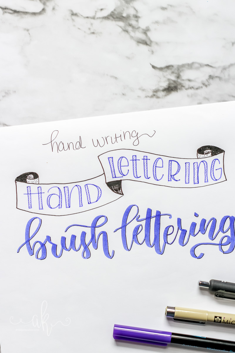 5 Things I With I Knew Before Learning Brush Lettering