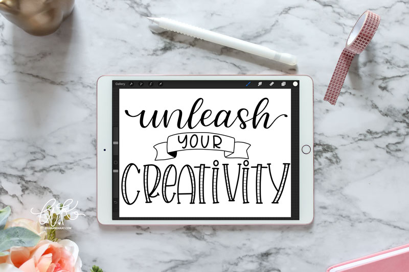 Unleash Your creativity Cut File