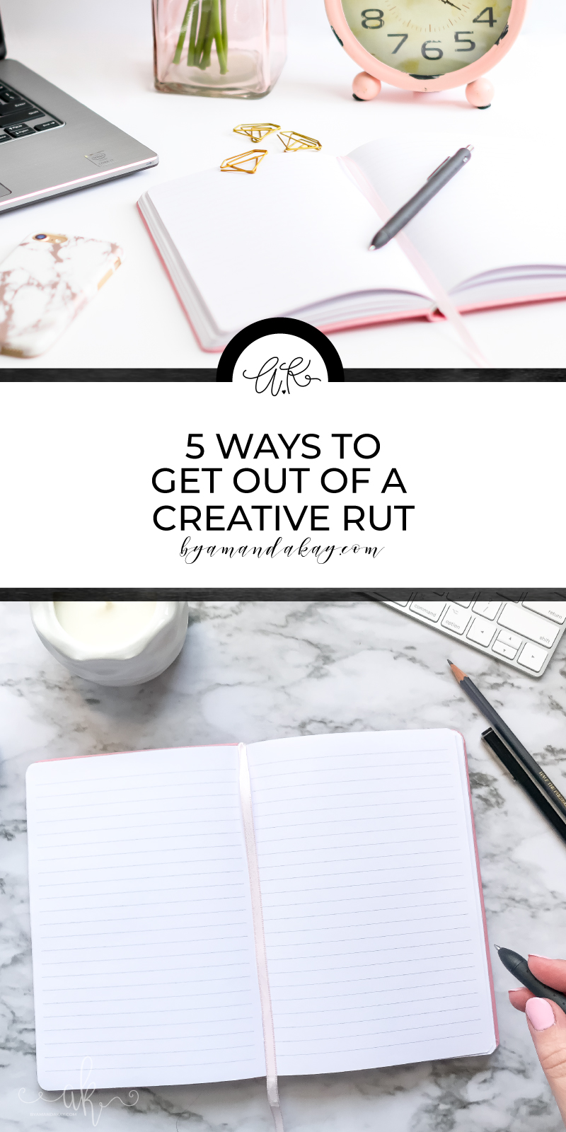 5 ways to get out of a creative rut pinterest photo