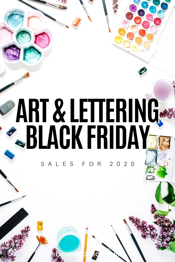 Art and Lettering Black Friday Sales 2020